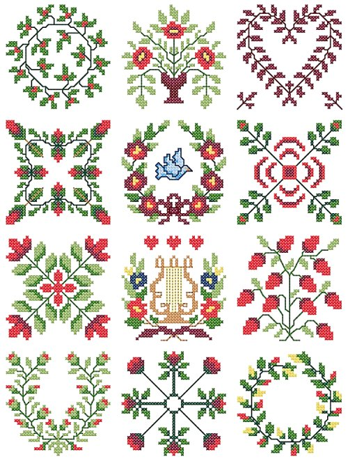 Easy Embroidery Designs
