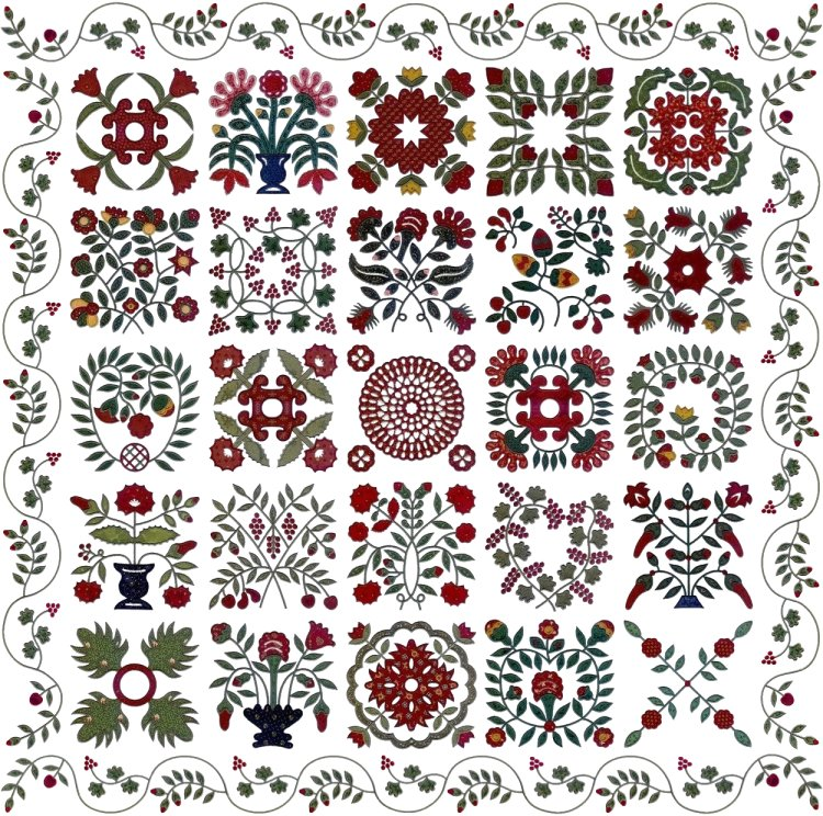 machine embroidery quilt designs patterns
