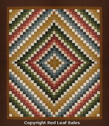 Twisted Bargello Quilt Pattern- Lightning Strikes Quilt